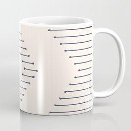 Boho Mudcloth lines Coffee Mug