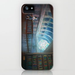 The Library under the Stars iPhone Case