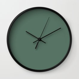 Vintage Green: Just Classic Wedding / Home Color Wall Clock
