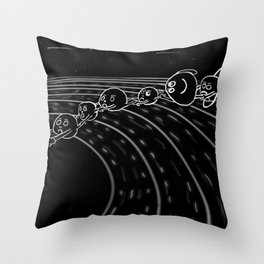 solar power I Throw Pillow