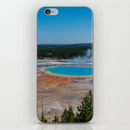Grand Prismatic Spring, Yellowstone iPhone Skin