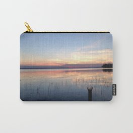 Summer Lake Sunset Carry-All Pouch