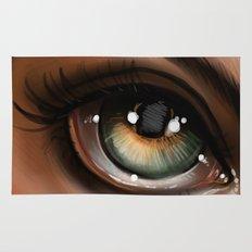 Hazel Eye Illustration Rug