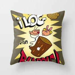iLOG Throw Pillow