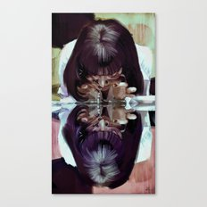 adrenaline? 'Mia Wallace'  Pulp Fiction Canvas Print