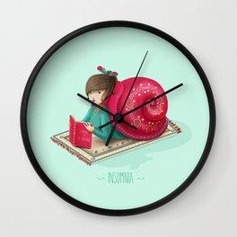 Cozy snail Wall Clock