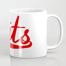 Tits Hand Logo Coffee Mug