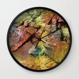 North Shore Grass Wall Clock