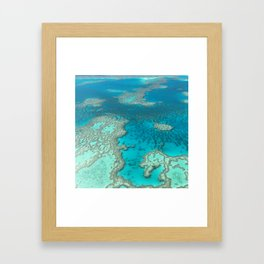 Great Barrier Reef Framed Art Print