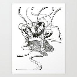 Hero Trip Issue 1 Cover NC Art Print
