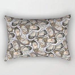 Oyster Seafood Fiesta in Cream Rectangular Pillow