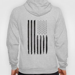 Black American flag Hoody