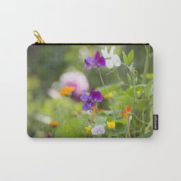 Summer Flowers colorful green meadow Carry-All Pouch