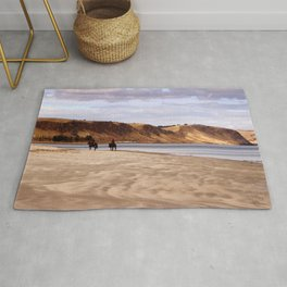 Riders on the Shore Rug