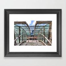 Gare de Luxembourg, Brussels Framed Art Print