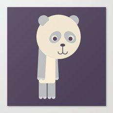 Letter P // Animal Alphabet // Panda Canvas Print