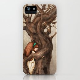 I love you, Old Tree! iPhone Case