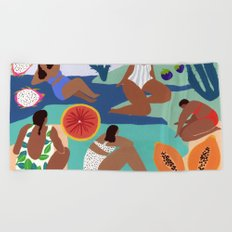 Fruity Bay Beach Towel
