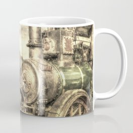 Steam Lorry And Traction Engine Vintage Coffee Mug