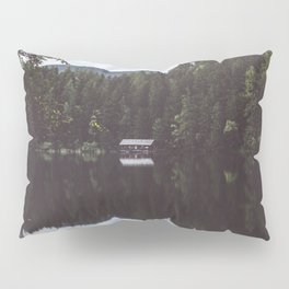 Cabin - Landscape and Nature Photography Pillow Sham