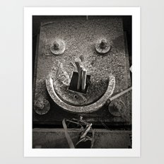 Architectural Smile Art Print