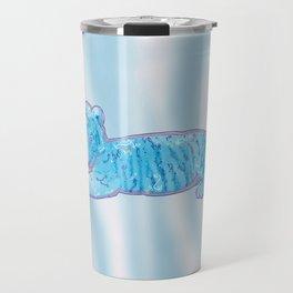 Little Blue Tiger Cub Travel Mug