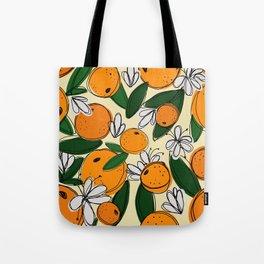 Oranges in Bloom Tote Bag