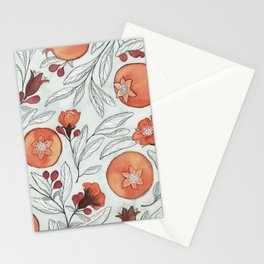 Young Pomegranates Stationery Cards