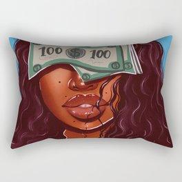 blinded Rectangular Pillow