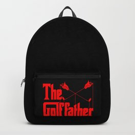 The Golf Father - Funny Golfer product Gift for Dad Backpack