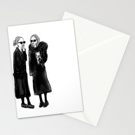 mary-kate n ashley 4 eva Stationery Cards