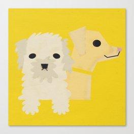 Dog_06 Canvas Print