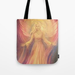 Angel Light Love - Spiritual painting Tote Bag