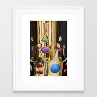 crown Framed Art Prints featuring Crown by Massimo Merlini