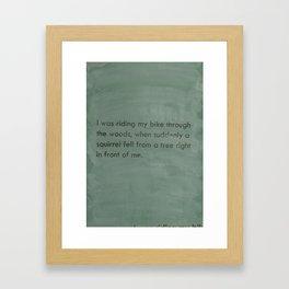 art of story Framed Art Print