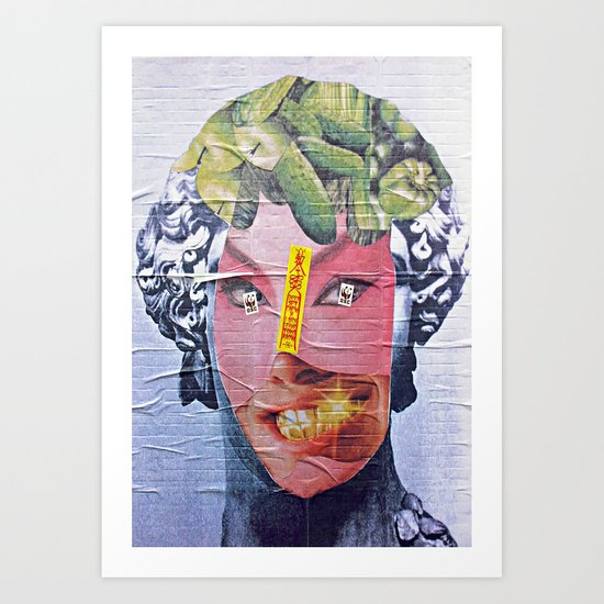 The Fat Lady of the East  Art Print