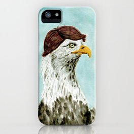 Mid-Life Crisis Eagle  iPhone Case