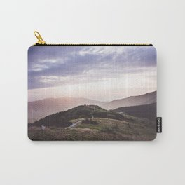good morning mountains Carry-All Pouch
