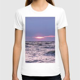 Water level Sunset T-shirt
