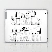 ELEVEN DOGS ONE BIRD Laptop & iPad Skin