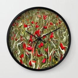 Opium Of The Masses Wall Clock