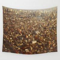tokyo Wall Tapestries featuring Tokyo by JuanAndresChacin