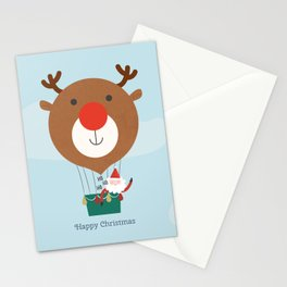 Day 13/25 Advent - Air Rudolph Stationery Cards