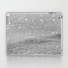 Glitter Silver Laptop & iPad Skin