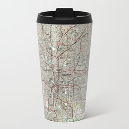 Atlanta Georgia Map (1981) Travel Mug
