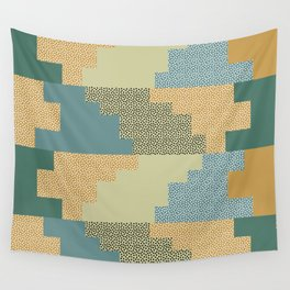 Shapes and dots Wall Tapestry