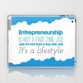 Entrepreneurship Quote Laptop & iPad Skin