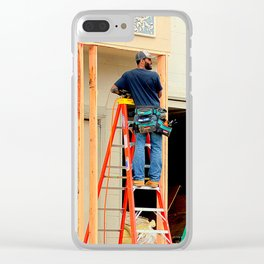 The Ladder Of Choice Clear iPhone Case