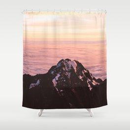 Mountain sunrise - A dreamy landscape Shower Curtain