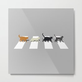 Kitty Road Metal Print